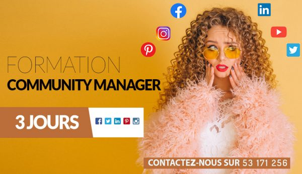 FORMATION COMMUNITY MANAGER EN TUNISIE